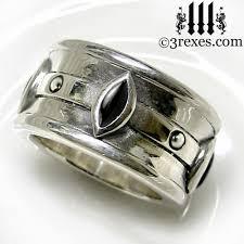 3 rexes jewelry moorish marquise gothic wedding ring