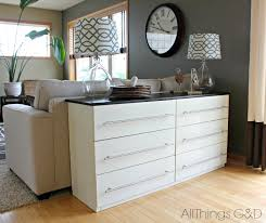 Kitchen Sideboard Table by Ikea Tarva Transformed Into A Kitchen Sideboard All Things G U0026d