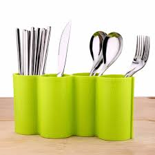Kitchen Utensil Organizers Plastic Kitchen Utensil Holder Dinnerware Rack Tableware Organizer