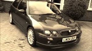 mg mg zr my first car youtube