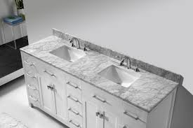 Bathroom Vanities Maryland Virtu Usa Caroline Parkway 72 Bathroom Vanity Set In White