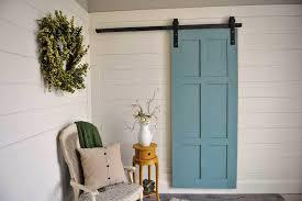 Closet Barn Doors Bypass Barn Door Closet Doors Closet Ideas Barn Door Closet
