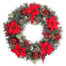 pre decorated wreaths garland