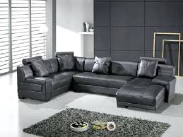Black Leather Sofa Modern Modern Leather Sectional Sofas Lauermarine