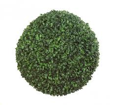 14 inch polyblend outdoor boxwood topiary a 117015