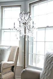 Diy Large Chandelier Diy Lamps Lighting Floor Chandelier Floor Lamp Diy Chandelier