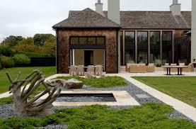 impressive modern shape house greenery courtyard interiordecodir