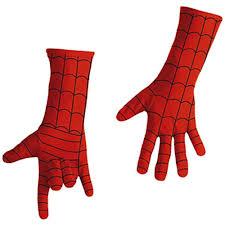 spiderman mask halloween amazon com disguise marvel spider man child gloves deluxe costume