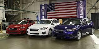 2017 subaru impreza sedan blue new subaru impreza is true red white and blue its impact is being