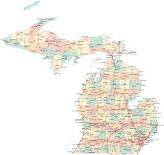 Upper Peninsula Michigan Map by Map Of Michigan