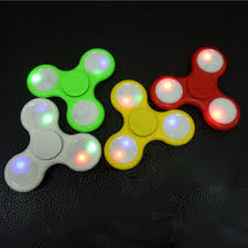 a light up fidget spinner auto led light up fidget spinner stress reducer toy for adhd and