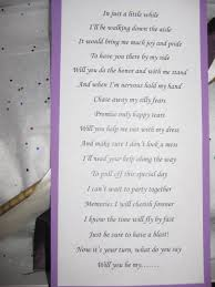 asking bridesmaids poems a way to ask someone to be bridesmaid with this lovely poem