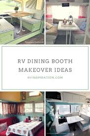 Rv Dinette Booth Bed 136 Best Rv Upgrade Ideas Images On Pinterest Rv Campers Travel