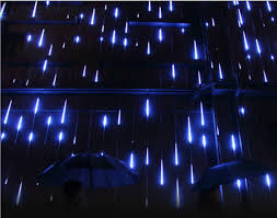 christmas lights that look like snow falling 80cm 8 tubes smd3528 led snow fall christmas light waterproof