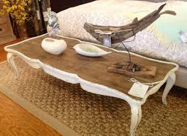coffee tables breathtaking cream distressed coffee table shower