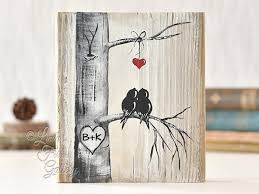 wood painting s gift bird painting on reclaimed wood