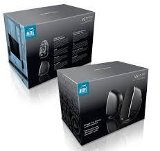 Speaker Designer Altec Lansing 3020 Speakers Packaging Billy Shen Art Direction