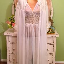 peignoir sets bridal best peignoir nightgown robe sets products on wanelo