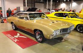 Buick Muscle Cars - 1970 buick gran sport gs 455 stage 1 with factory desert gold