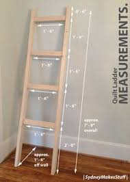 Free Standing Ladder Shelf Plans by Best 25 Quilt Racks Ideas On Pinterest Farmhouse Quilts Quilt