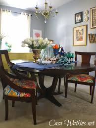 Coastal Dining Room Table by Colorful Coastal Cottage Dining Room Makeover Reveal Casa