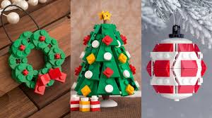 every tree deserves one of these lego ornaments