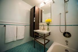 Blue Tile Bathroom by Bathroom Tile U2013 Heather Zerah Interiors
