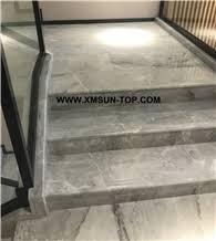 bush hammered grey white limestone steps greyish white limestone