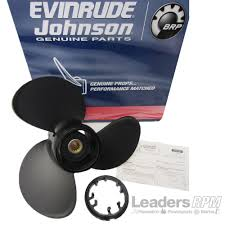 evinrude johnson new oem hydrus propeller pontoon prop 13 875x13