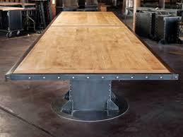 Metal Conference Table I Beam Table Gallery U2013 Vintage Industrial Furniture