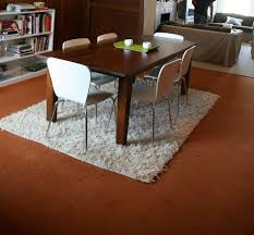Large White Shag Rug 15 Rugs That Showcase Their Power Under The Dining Table Dining