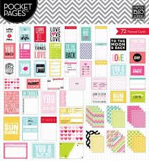 pocket pages me and my big ideas pocket pages themed cards scrapbooking