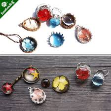 diy resin necklace images Online shop 1pc triangle square geometry silicone mould diy resin jpg