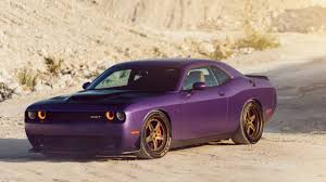 matte pink car wallpaper dodge challenger hellcat plum crazy purple matte 5k