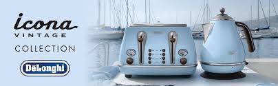 Delonghi Icona Toaster Green De U0027longhi Kbov 3001 Az Vintage Icona Anita Jug Kettle 1 7 L 3000
