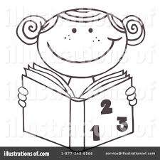 reading clipart 223310 illustration by hit toon