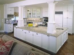 column kitchen ideaskitchen white columns ideas