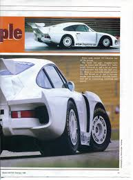 porsche 935 engine porsche dp 935 daytona modern motor mag 02 1988 porsche cars