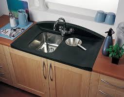 Bowl Neostone Sink Right Hand Drainer Rangemaster Roma - Rangemaster kitchen sinks