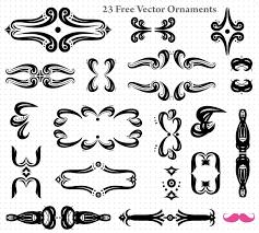 vector free ornaments graphics 123freevectors