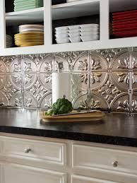 Kitchen Metal Backsplash Ideas Decorating Tin Backsplash U2014 Interior Exterior Homie Within