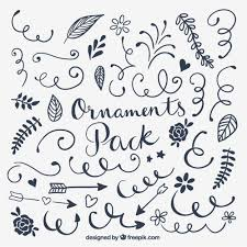 ornaments pack vector free