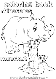 amazing free meerkat coloring pages printable for kids