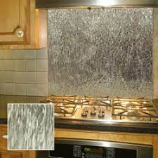 Tree Bark Pattern Stainless Steel Backsplashes From - Stainless steel backsplash