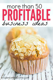 50 profitable small business ideas single income