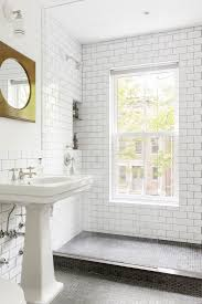 Black And White Subway Tile Bathroom 198 Best Meet Me In The Bathroom Images On Pinterest Bathroom