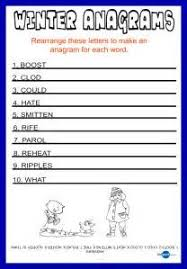 letter anagram resume example language skills