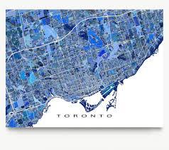 Map Of Toronto Map Of Toronto Canada Toronto Map Canada Canada