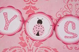 Ladybug Baby Shower Centerpieces by Items Similar To Ladybug Baby Shower Banner Ladybug Baby Shower