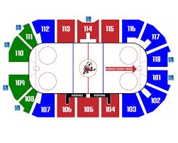 seat map seating map niagara icedogs